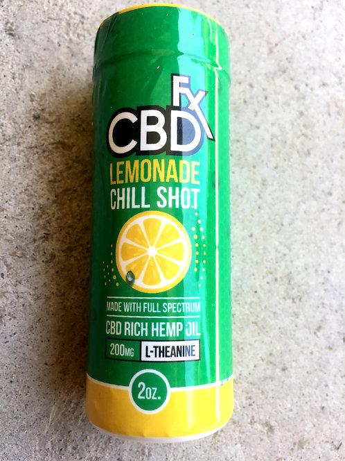 CBDfx Lemonade Chill Shot 200mg 2oz -24 bottles $5.00 per bottle