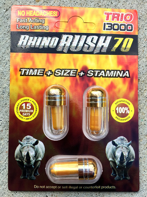 R Rush Trio 13,000 -45 ct $2.55 per pill