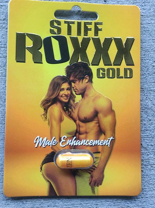 Stiff Rox Gold 24 ct Display Box $3.58 per pill