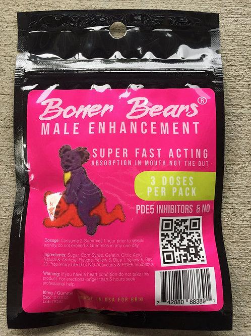 BONER BEARS 15 bags $9.00 per bag 6 gummies per bag