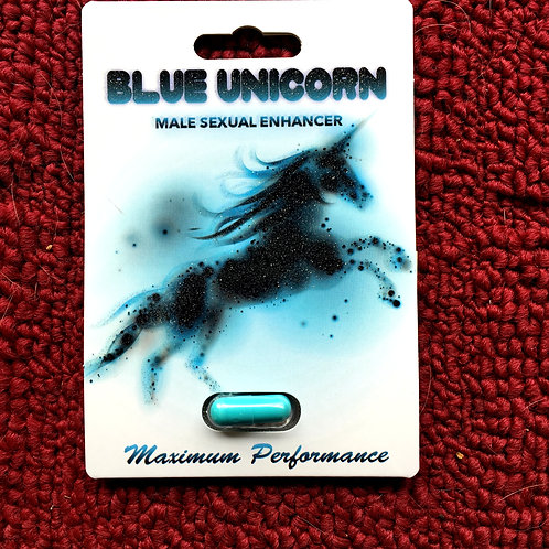 Blue Unicorn 26 ct Display Box $3.85 per pill