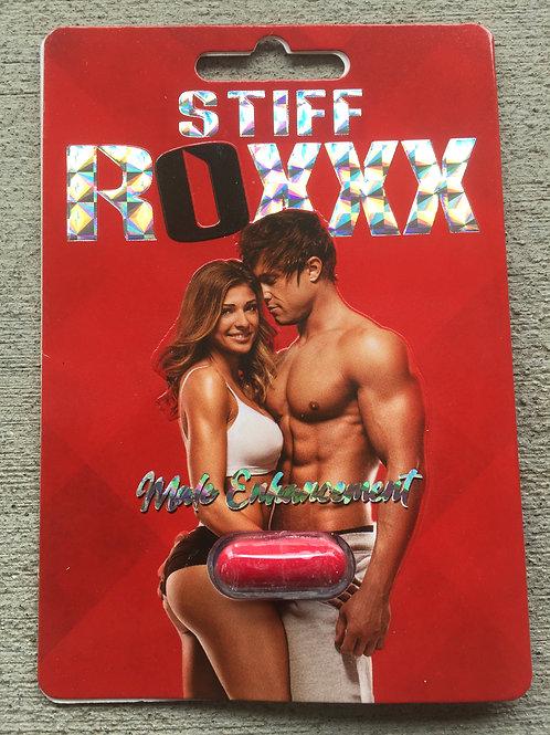 Stiff Rox Red 24 ct Display Box $3.58 per pill