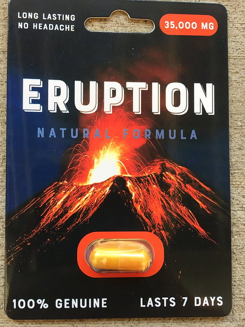 Eruption 30 ct Display Box $3.83 per pill