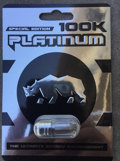 Platinum 100 k 24 ct Display Box $4.50 per pill