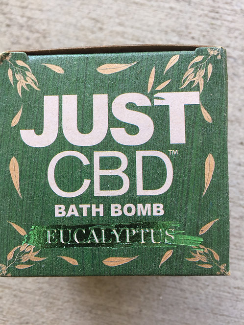 Just CBD Large Bath Bombs  150 mg 15 bombs 5 kinds $7.50 per bomb