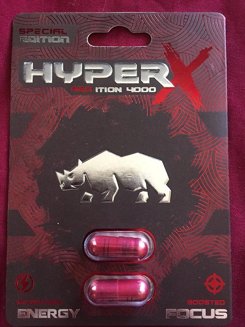 Hyper X 60 ct Display Box $2.16 per pill