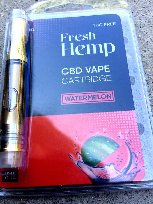 Fresh Hemp CBD Cartridge 1000 MG 3 flavors-10 Cartridges $13.50 per Cartridge