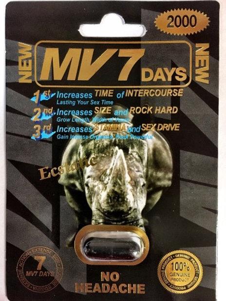 MV Seven Black 24 ct $4.50 per pill