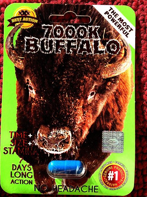 Buffalo 7000K - 24 ct Display Box $3.95 per pill
