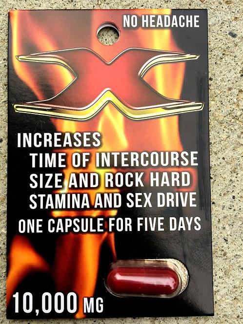 X 10,000 -30 ct Display Box $4.00 per pill