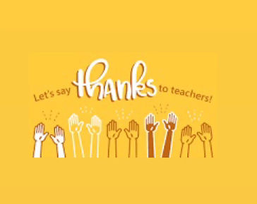 Students Thank Teachers