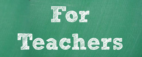 For Teachers Banner