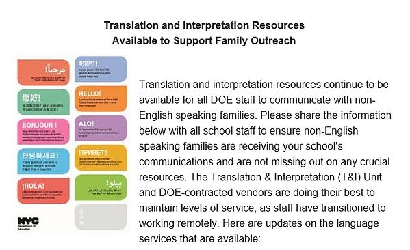 Translation and Interpretation Resource Link