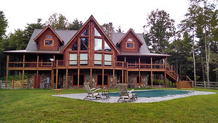 Log home living at it's best