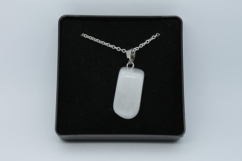 Snow Quartz Necklace