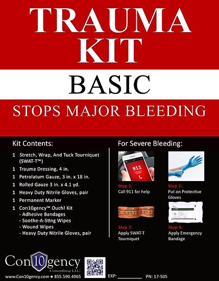 Personal Trauma Kit - Basic
