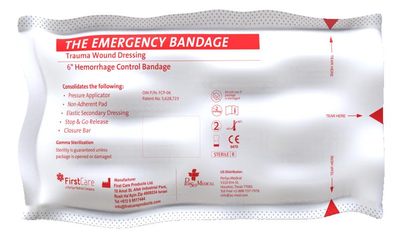 "Emergency Pressure Bandage - 6"""