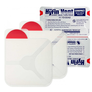 Chest Seal, Compact (2/pk)
