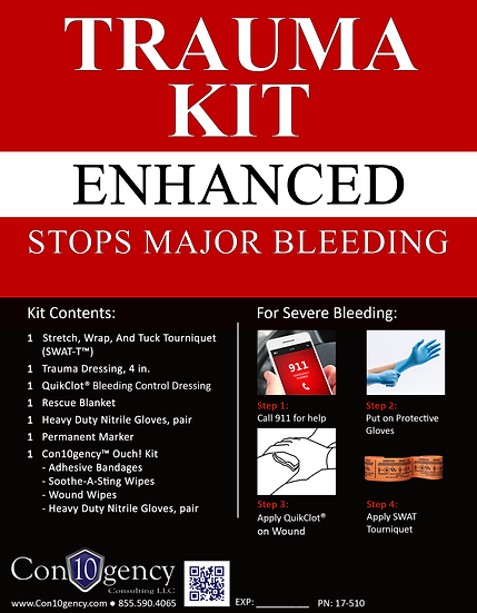 Personal Trauma Kit - Enhanced