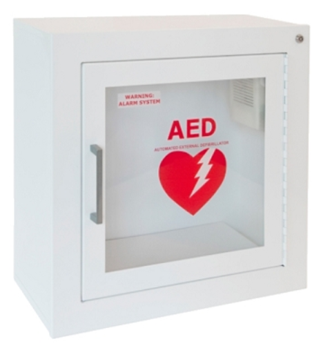 AED Cabinet, Alarmed