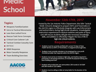 Alamo Area Regional Tactical Medic School