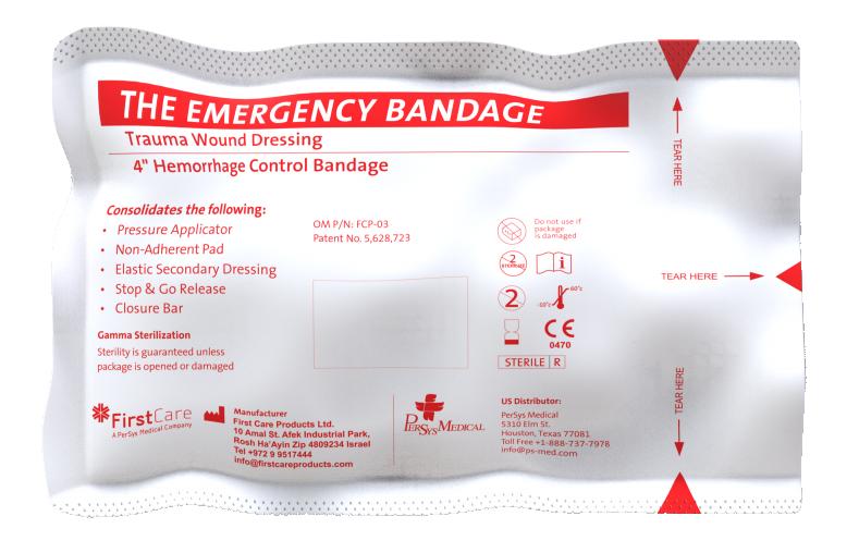 "Emergency Pressure Bandage - 4"""