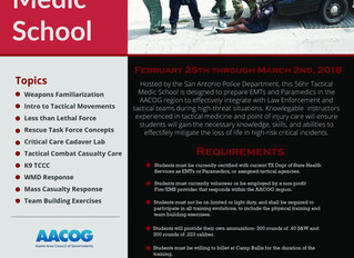 Alamo Area Regional Tactical Medic School