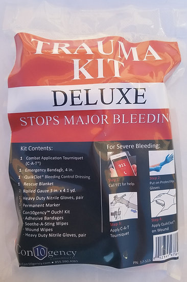Personal Trauma Kit - Deluxe