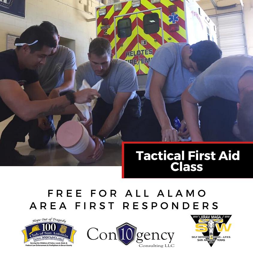 100 Club of San Antonio | Tactical First Aid (1)