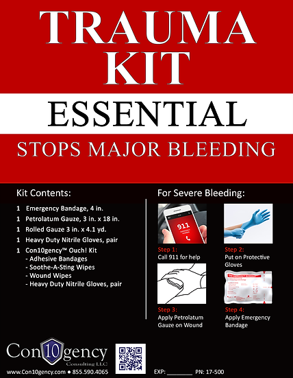 Personal Trauma Kit - Essential