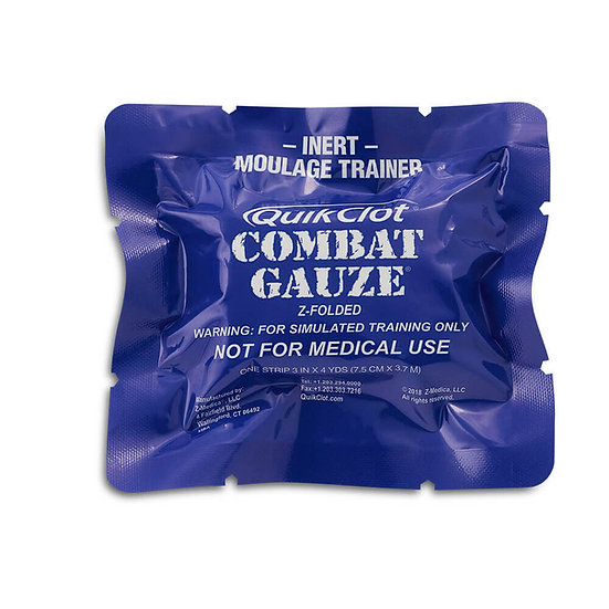QuikClot® Combat Gauze® Moulage Trainer