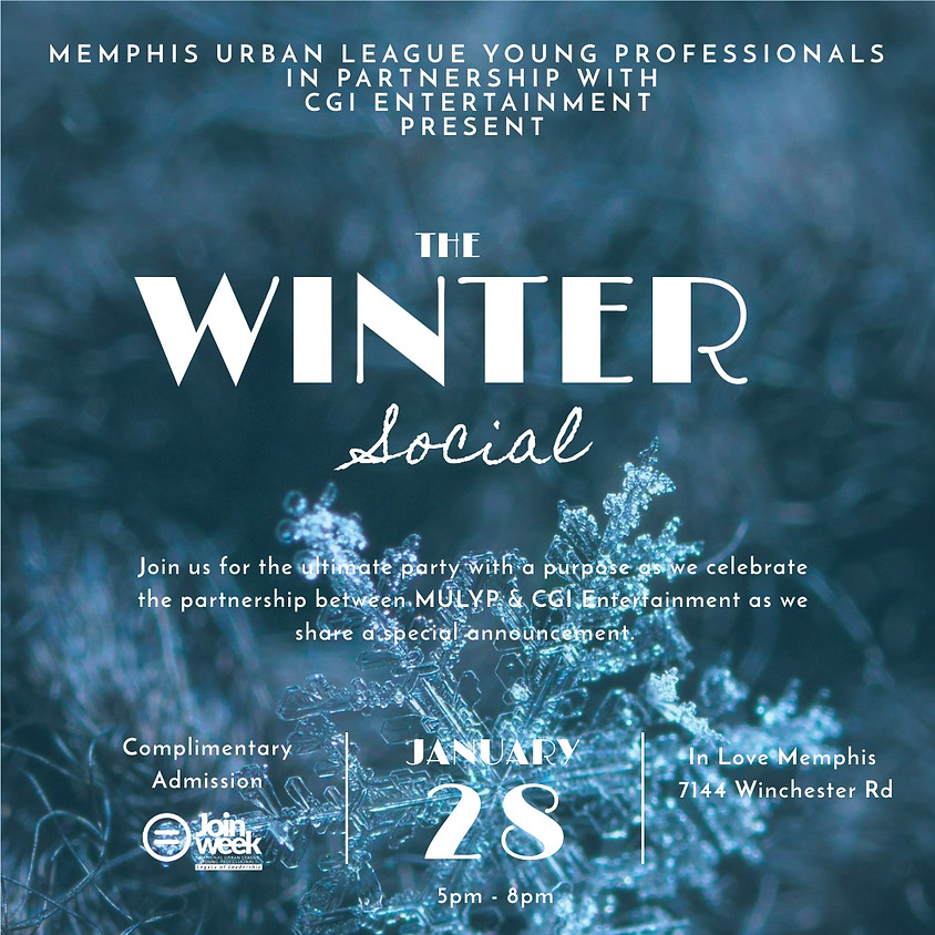 The Winter Social | Join Week 2019