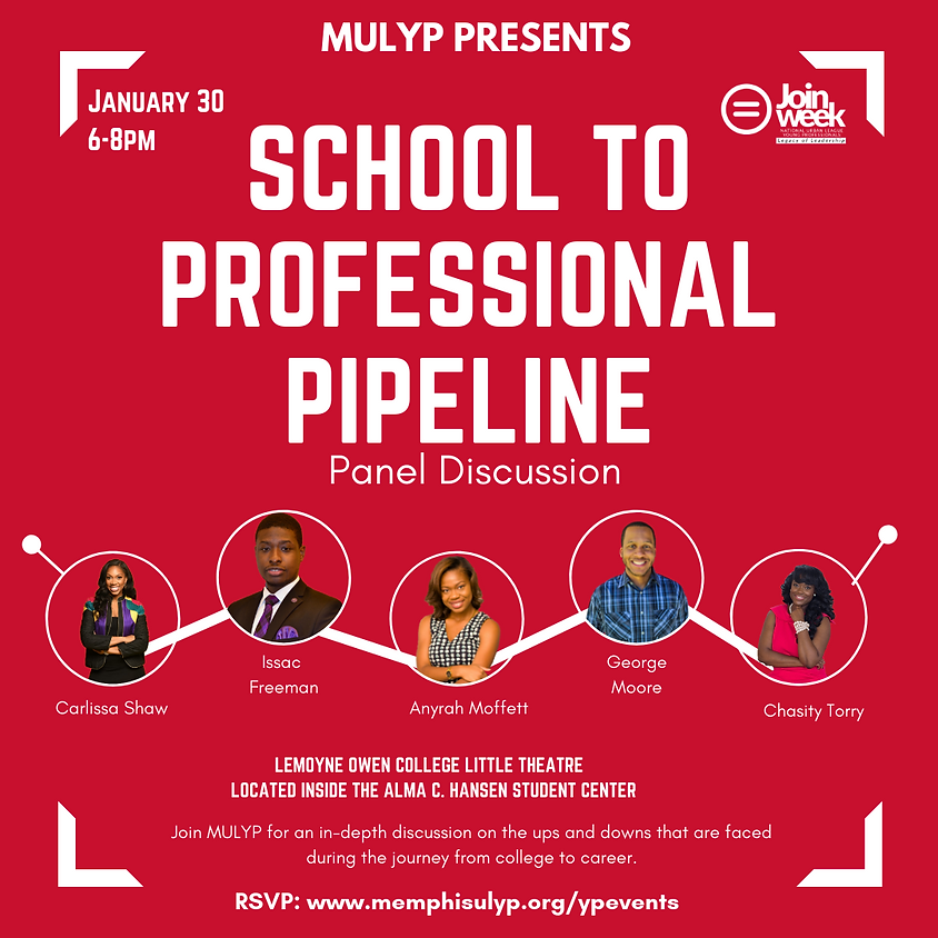 School To Professional Pipeline Panel Discussion | Join Week 2019