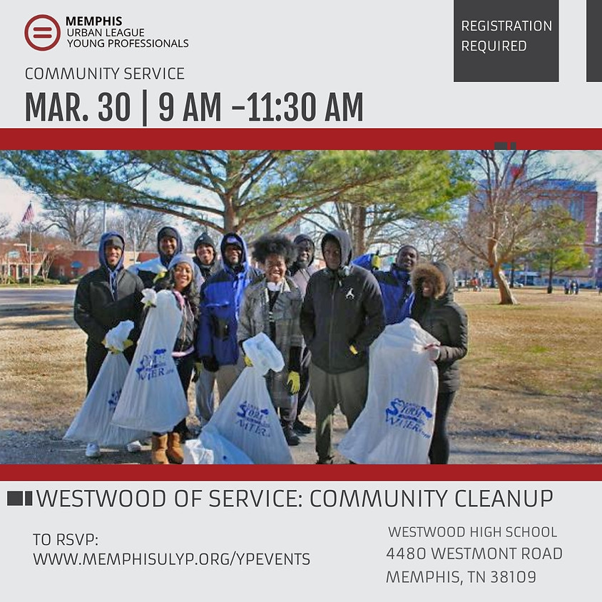 March Community Service - Westwood Day of Service
