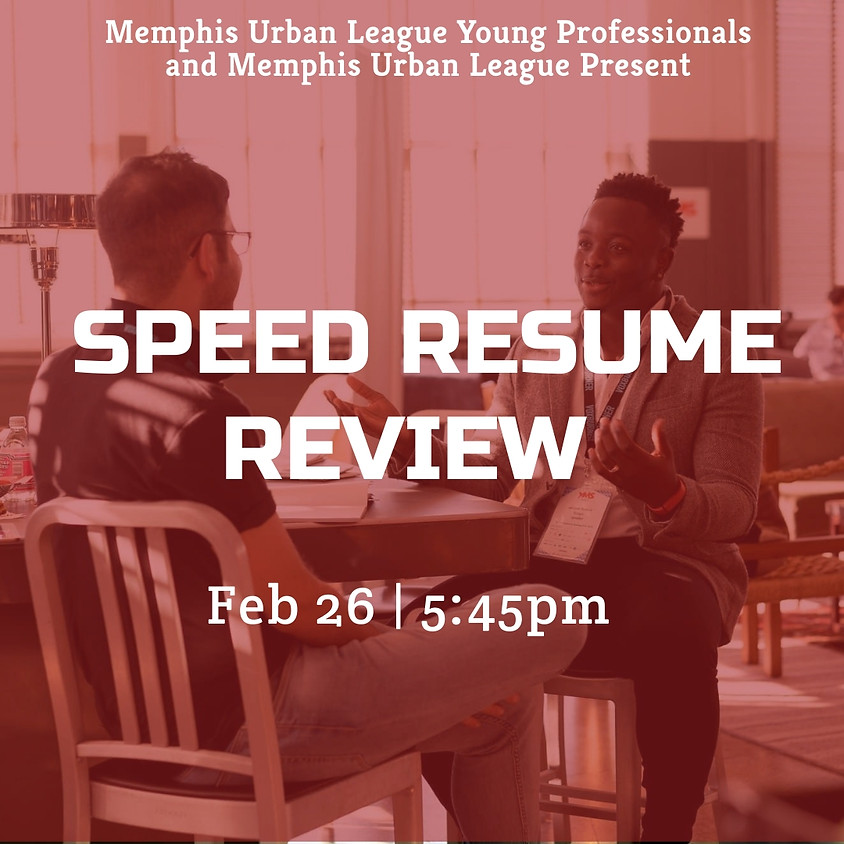 Speed Resume Review