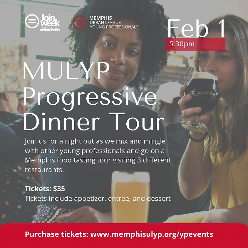 Progressive Dinner Party/Tour | Join Week 2019