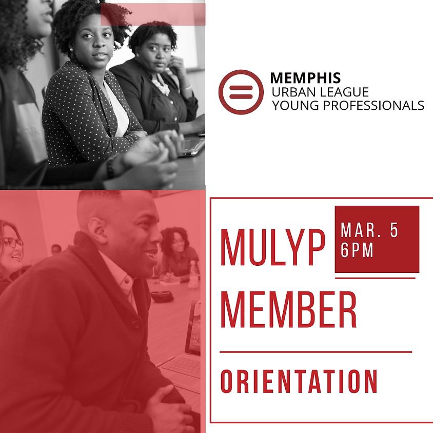MULYP Spring Member Orientation
