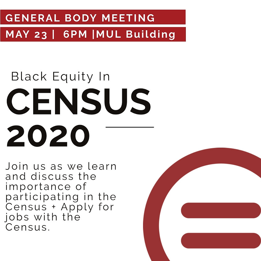 GBM: Black Equity In Census 2020