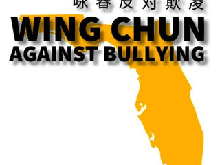 Twisting Tiger Academy is now the Official Florida Chapter for Wing Chun Against Bullying!