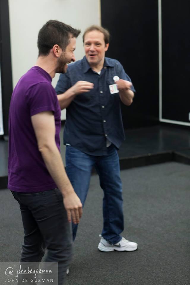 Jim Stanek and Nikita Burdein