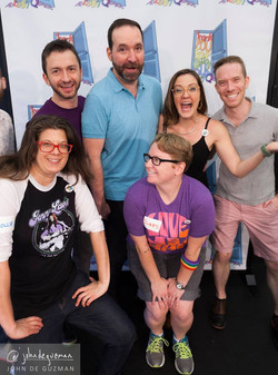TYFCO Cast Being Silly
