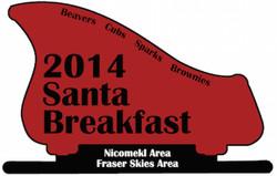 2014 Santa Breakfast Crest