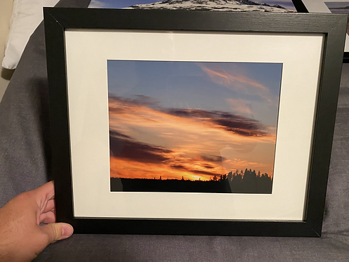 "Framed ""Pidherny Sunset"""