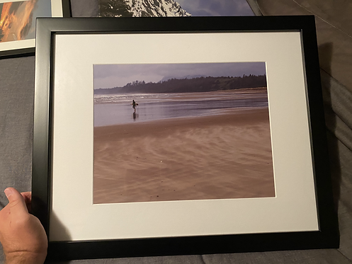 "Framed ""Into the Surf"""