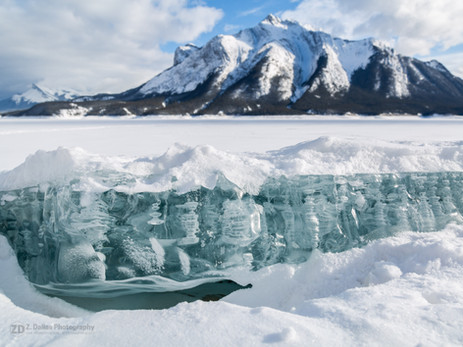 Abraham Lake Bubbles II