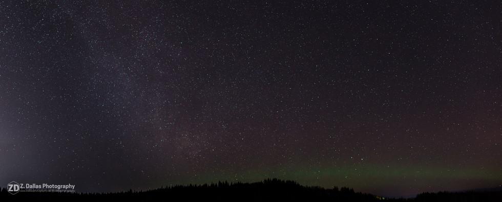 Night Sky Panorama