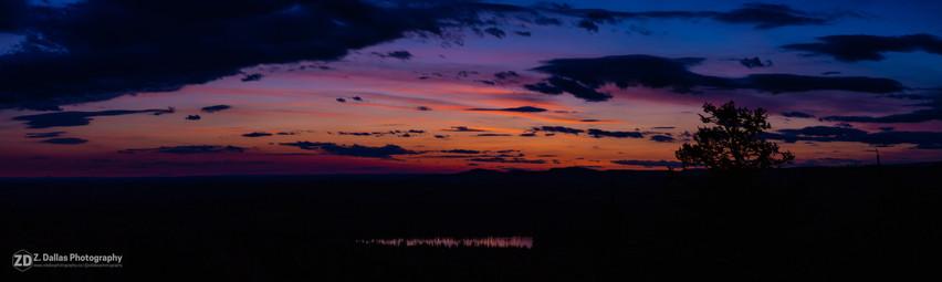 Teapot Sunset Panorama