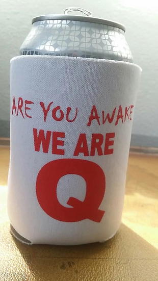 Q COOZIES 6PACK FOR $10.