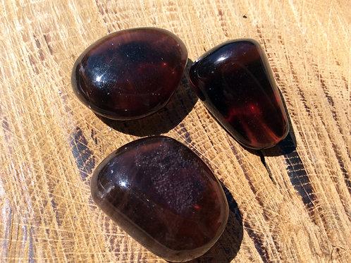 Fluorine marron violette