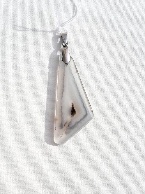 Pendentif Agate polyédrique